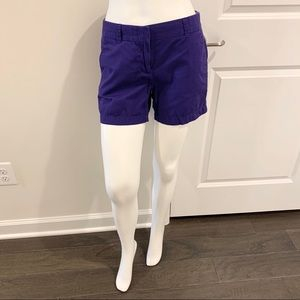 💙 J. Crew Factory Purple Cotton Chino Shorts 2